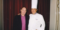 Guy Bardel avec Paul Bocuse