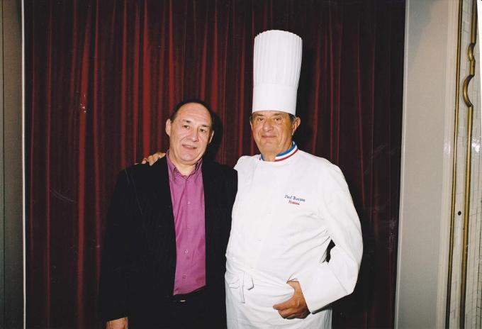 Guy Bardel avec Paul Bocuse