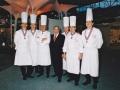 Guy Bardel avec les 6 meilleurs ouvriers de France De gauche à droite : Alain Lecossec, Gérard Vignat, Roger Jaloux, Guy Bardel, Christian Tetedoie, Guy Lassausaie, Williams Jacquier